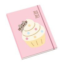 Pusheen Diary Mid Year Official 2018-19 Diary - Academic Week-to-View A5 Format Diary