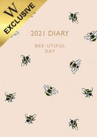 Bumble Bees Desk Diary 2021