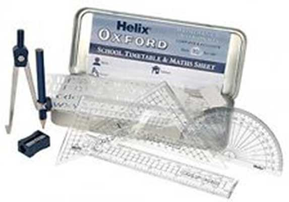 Helix Oracle Maths Set - 9 Piece