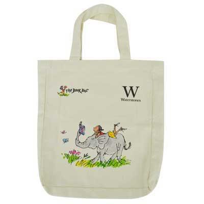 The Book Bus Bag: Elephant (Tote bag)