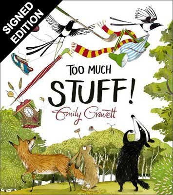 Too Much Stuff: Signed Bookplates Edition (Hardback)