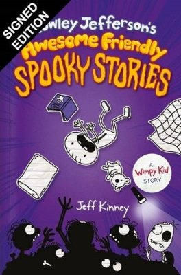 Rowley Jefferson's Awesome Friendly Spooky Stories: Signed Bookplate Edition (Hardback)