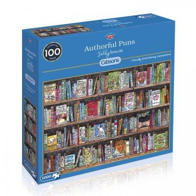 Authorful Puns Jigsaw Puzzle 1000pc