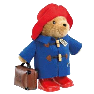 Paddington Bear with Suitcase  fef6b5733