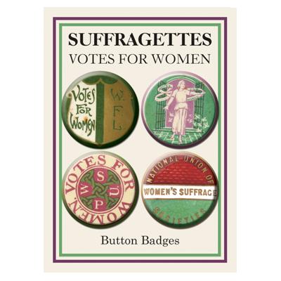 Suffragettes Badges (Set of 4)