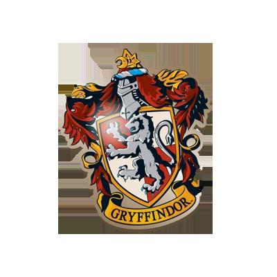 Harry Potter Enamel Badge - Gryffindor