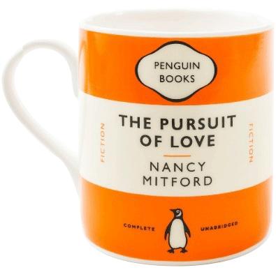 The Pursuit Of Love - Mug (orange)