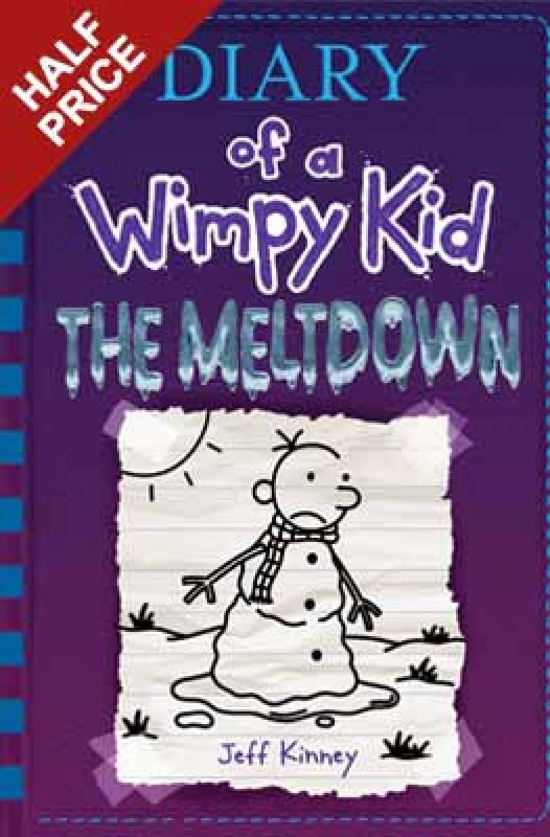 Jeff kinney books waterstones diary of a wimpy kid the meltdown book 13 solutioingenieria Images