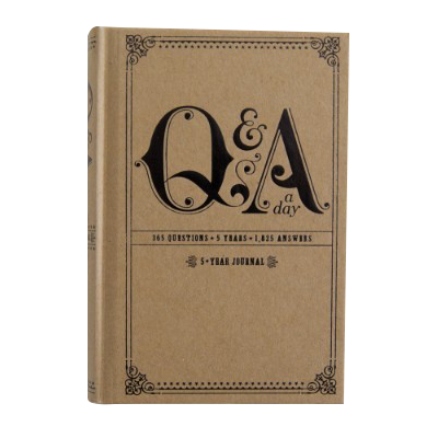 Q And A A Day (Hardback)