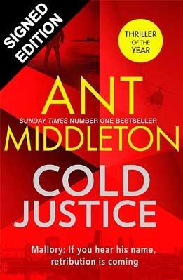 Cold Justice: Signed Edition (Hardback)