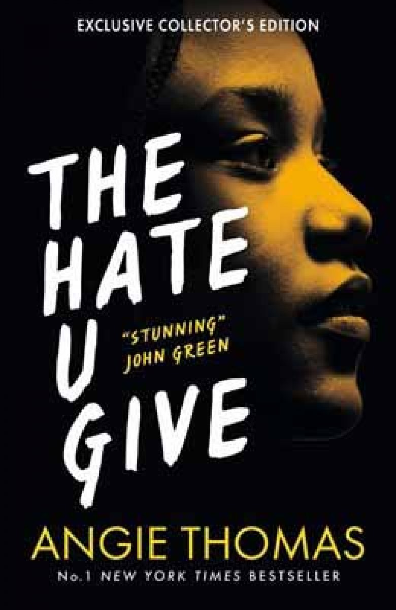 Image result for the hate u give book