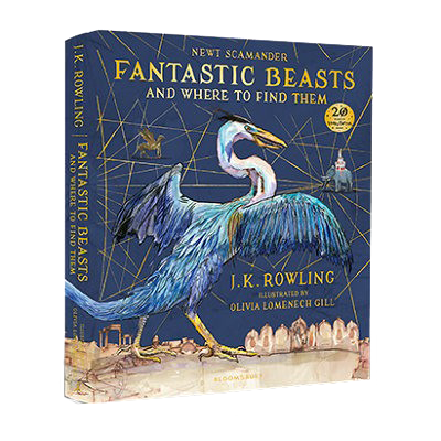 Fantastic Beasts and Where to Find Them: Illustrated (Hardback)