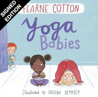 Yoga Babies - Signed Edition (Hardback)