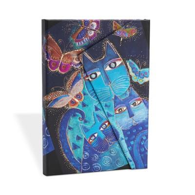 Blue Cats & Butterflies Mini Lined (Hardback)