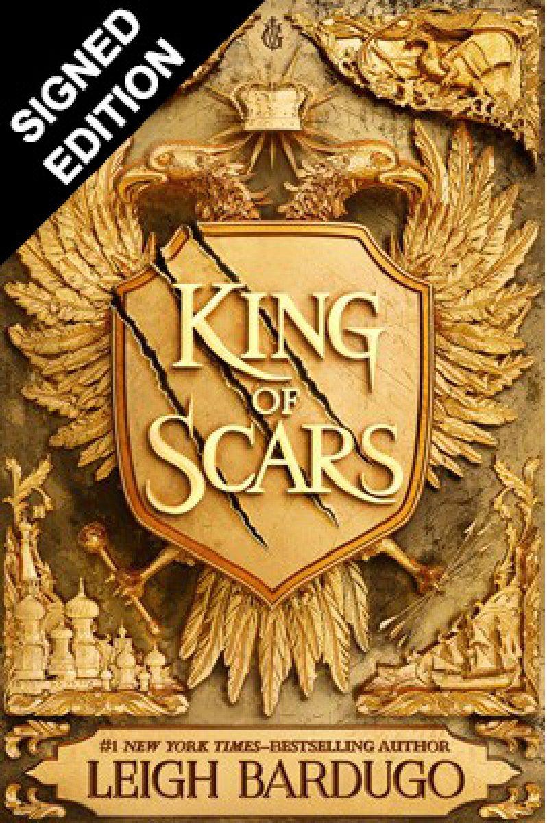 King of Scars: Signed Edition (Hardback)
