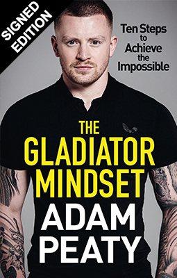 The Gladiator Mindset: Signed Bookplate Edition (Hardback)