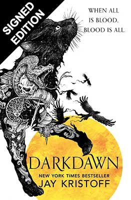 Cover of the book, Darkdawn (The Nevernight Chronicle, #3).