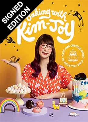 Baking With Kim-Joy: Cute and Creative Bakes to Make you Smile - Signed Edition (Hardback)