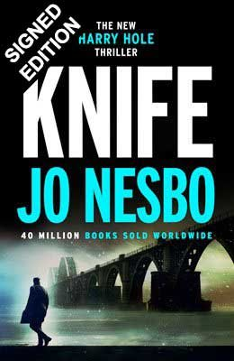 Cover of the book, Knife (Harry Hole, #12).