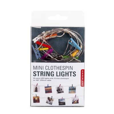 Mini Clothes Pin String Light