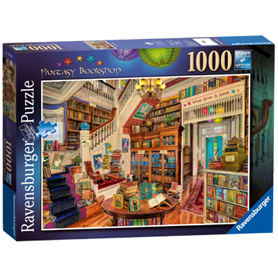 The Fantasy Bookshop 1000pc Jigsaw