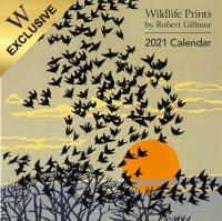 2021 Wildlife Prints Wall Calendar