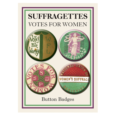 Suffragettes Badges (Set of 4)