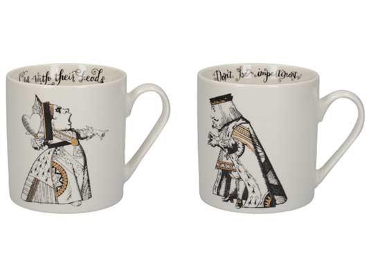 V&A His & Her Mug Set