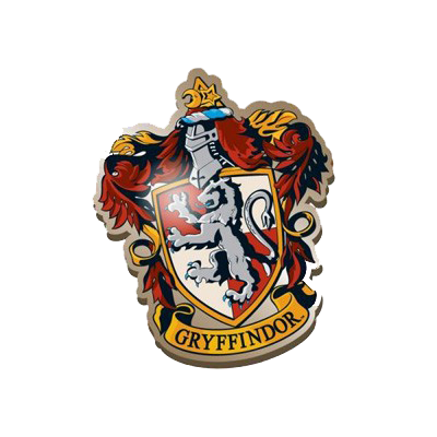 Harry Potter Enamel Badge - Gryffindor