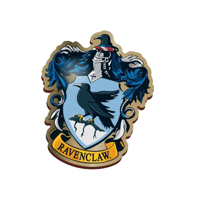 Harry Potter Enamel Badge - Ravenclaw