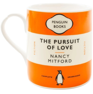 The Pursuit Of Love - Mug (orange)