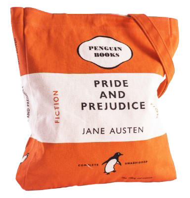 Pride And Prejudice Cloth Bag