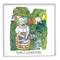Monet Laundering Card