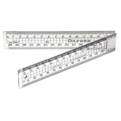 Oxford 30cm Folding Ruler