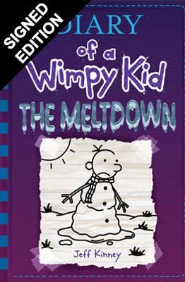 Diary of a Wimpy Kid: The Meltdown (book 13): Signed Edition (Hardback)