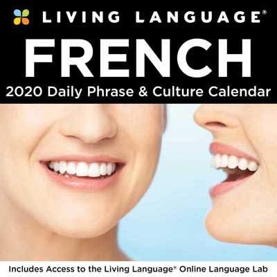 Living Language: French 2020 Day-to-Day Calendar (Calendar)