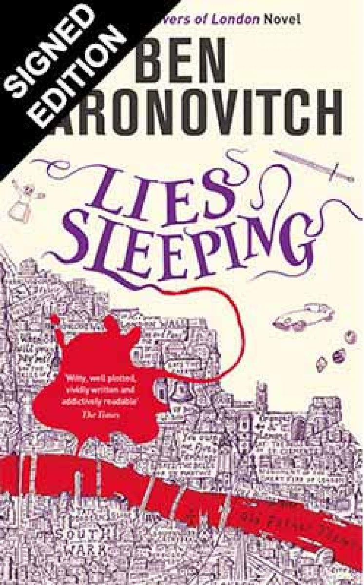 Cover of the book, Lies Sleeping (Peter Grant, #7).