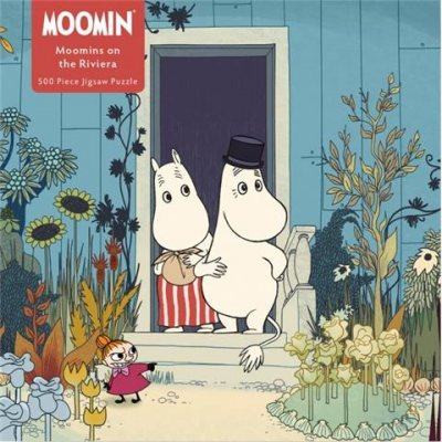 Adult Jigsaw Puzzle Moomins on the Riviera (500 pieces)