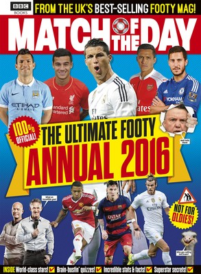 Match of the Day Annual 2016 (Hardback)