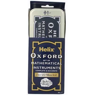 Oxford Maths Set In A Tin