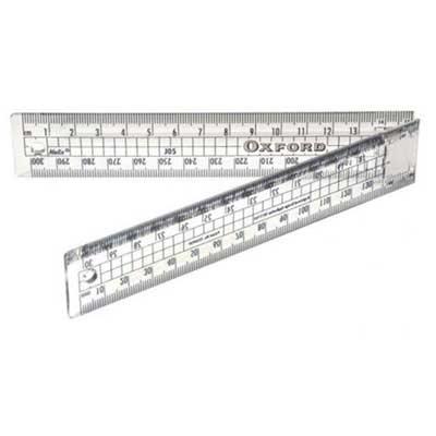 Oxford 30cm Folding Ruler