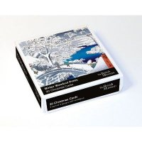 Winter Woodblock Prints X20 Christmas Cards