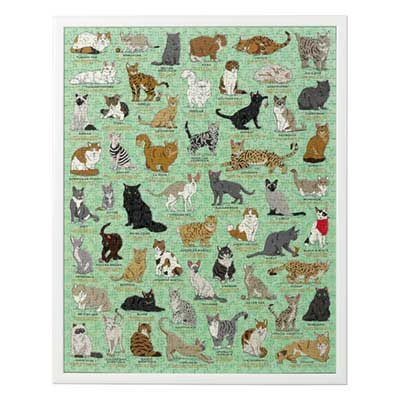 Cat Lover's Jigsaw
