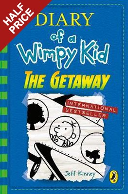 Diary of a wimpy kid the getaway by jeff kinney waterstones diary of a wimpy kid the getaway solutioingenieria Choice Image