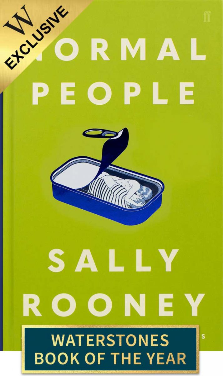 Cover of the book, Normal People.