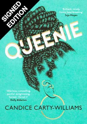 Cover of the book, Queenie.