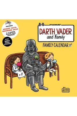 2020 Darth Vader And Family Wall Planner (Calendar)