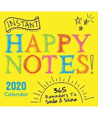 2020 Instant Happy Notes Boxed Calendar (Calendar)