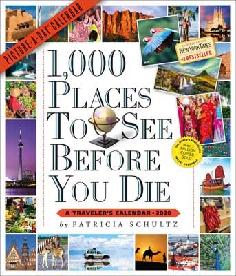 1,000 Places to See Before You Die Picture-A-Day Wall Calendar 2020 (Calendar)