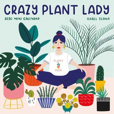 Crazy Plant Lady Mini Wall Calendar 2020 (Calendar)